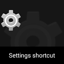 How to quickly access various settings (sound, apps, data usage, etc) on Android