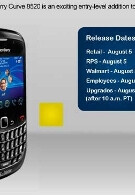 BlackBerry Curve 8520 to get August 5th launch at T-Mobile