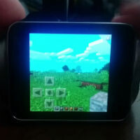 Can vs Should: Minecraft on an Android Wear watch demoed