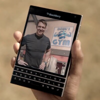 Check out this ad for the BlackBerry Passport from South Africa's Cell C