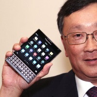 Chen: BlackBerry Passport is for those wishing to be more productive