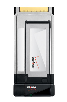 Verizon launches the PC770 Mobile Broadband card