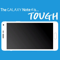 Galaxy Note 4 drop tests show that you can rely on it to survive a few drops