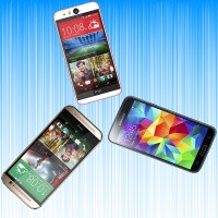 HTC Desire Eye vs HTC One M8 vs Samsung Galaxy S5: specs comparison