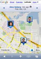 iPhone can now utilize Google Latitude