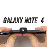 The Galaxy Note 4 holds up during the #BendTest, kind of