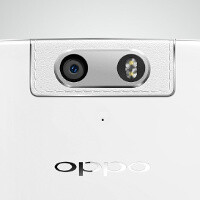 Check out the swiveling camera of the upcoming Oppo N3 and its faux leather finish