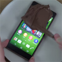Forget the bend test, here's the Xperia Z3 in Coke and Nutella tests!