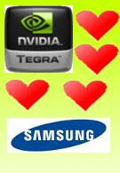 Samsung to offer NVIDIA Tegra phone relatively soon?