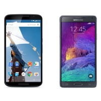 Google Nexus 6 vs Samsung Galaxy Note 4: in-depth specs comparison