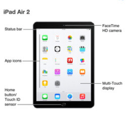 Apple iPad Air 2 and iPad mini 3 leak out straight from the source