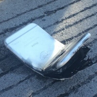 Apple iPhone 6 bends, causing a second degree burn on man's leg