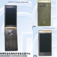 The dual-display Samsung Galaxy Golden 2 clamshell leaks in a couple of photos