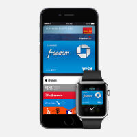 Watch Apple Pay used at Mickey D's fine eating establishment