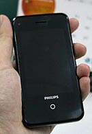 Philips' first Anrdoid handset spied?