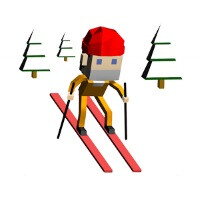 Escape from Montegrande is about dodging police and combusting horses down a snowy ski-slope... yes, it's fun!
