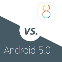 Android 5.0 Lollipop vs iOS 8.1: the best, compared