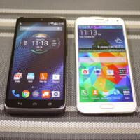 Motorola DROID Turbo versus Samsung Galaxy S5: first look