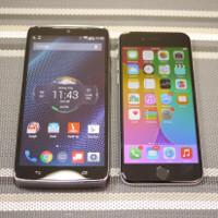 Motorola DROID Turbo vs Apple iPhone 6: first look