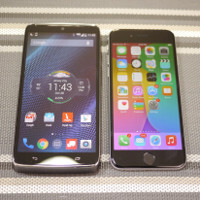 Motorola DROID Turbo vs Apple iPhone 6: first look