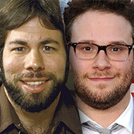 Seth Rogen reported to play the Woz to Christian Bale's Jobs