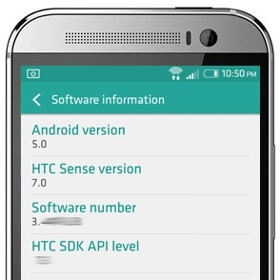 HTC One (M8)'s Android 5.0 Lollipop update to come with Sense 6, not Sense 7?