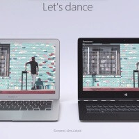 The Lenovo Yoga Pro 3 dances circles around the Apple MacBook Air in Microsoft's new ad