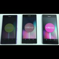 Sony Xperia flagships already running Android 5.0 AOSP