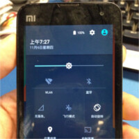 Xiaomi Mi 2 running stock Android 5.0 Lollipop shows up on photos