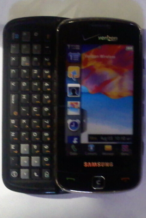 Spy pics of the new Samsung Rogue U960 for Verizon