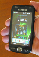 Hands on with Samsung's Omnia II