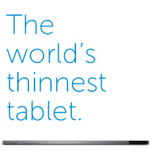 Slates on the catwalk: world's thinnest tablets roundup