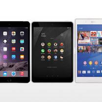 Nokia N1 vs iPad mini 3 vs Sony Xperia Z3 Tablet Compact: specs comparison