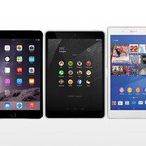 Nokia N1 vs iPad mini 3 vs Sony Xperia Z3 Tablet Compact: specs comparison