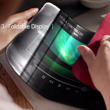 samsung to release smartphones with flexible displays that fold in half by end of 2015. Black Bedroom Furniture Sets. Home Design Ideas