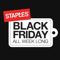 6 days of Black Friday deals to be held at Staples, starting this coming Sunday