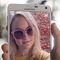 Brother, sister, father, and Reggie Watts, they know how to Note: Samsung's new Galaxy Note 4 ads