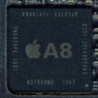 A8 chip on Apple iPhone 6 and Apple iPhone 6 Plus can support 4K video playback