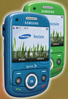 Exclusive images of the Samsung Reclaim for Sprint