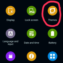 The new TouchWiz themes app leaks out, here's how the skinned interface might look like