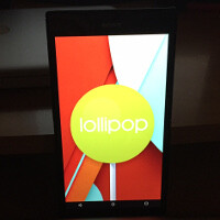 Check out these first images of the Sony Xperia Z Ultra GPe running on Android 5.0 Lollipop