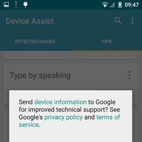 Google launches Device Assist app for select Android 5.0 Lollipop phones and tablets
