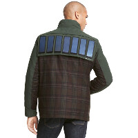 Tommy Hilfiger designer tech-jacket charges your phone, looks less than agreeable