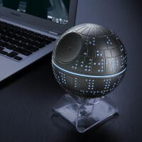 This is the Death Star tribute Bluetooth speaker you're looking for!