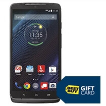 Buying a Motorola Droid Turbo can get you a $150 gift card at Best Buy