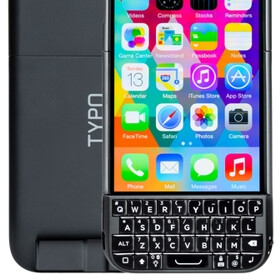 Typo 2 physical keyboard for iPhone 6, 5s and 5 now shipping
