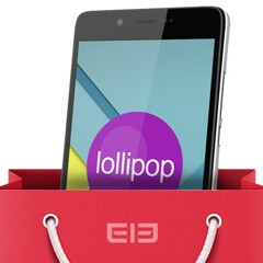 This is China's first smartphone to run Android 5.0 Lollipop out of the box