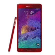 """There's a fiery """"Velvet Red"""" color version of the Galaxy Note 4, good luck getting it"""
