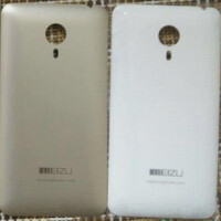 Leaked photos show the back covers belonging to a pair of Meizu's upcoming Blue Charm handsets?