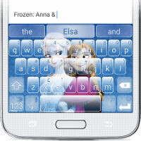 Swiftkey unveils branded keyboard themes, Frozen is first